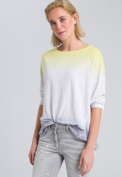 Pullover im Colourblocking-Stil