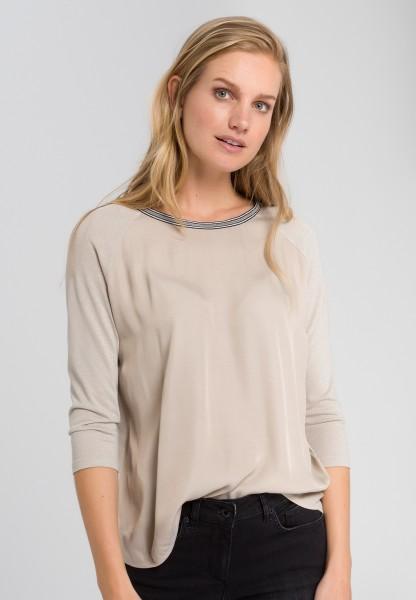 Shirt mit Lurexgarn