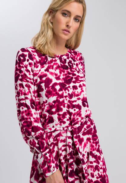 Maxi-Kleid mit Batikprint