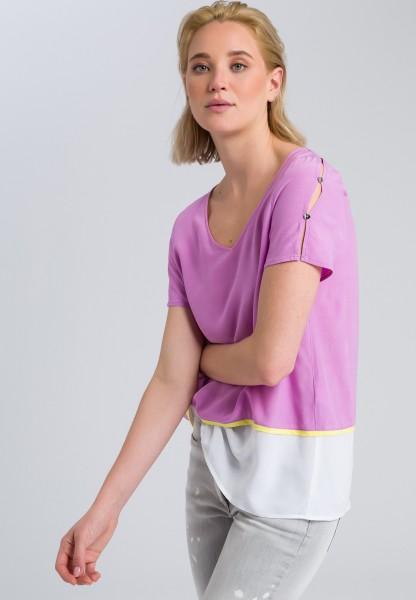 Blusenshirt im Lagen-Look