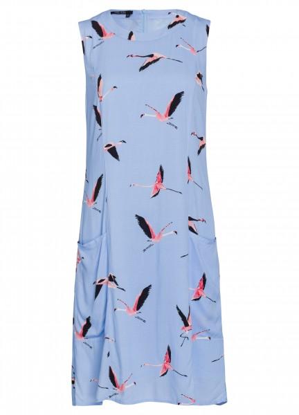 Kleid mit Flamingoprint