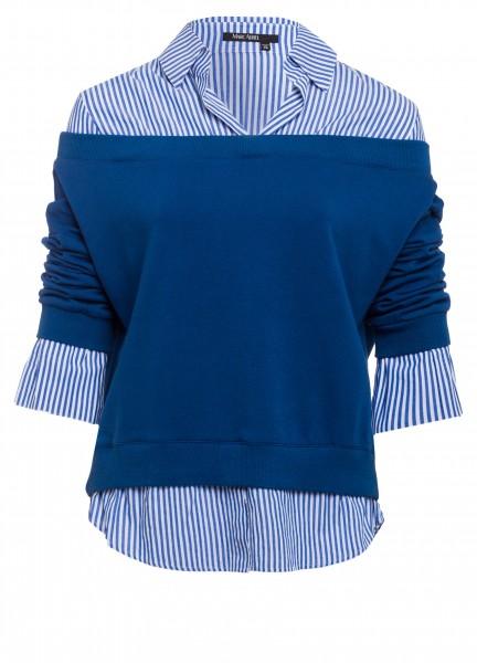 Bluse mit Sweatshirt