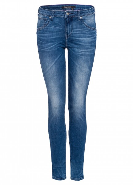 Jeans in Slim-fit-Passform