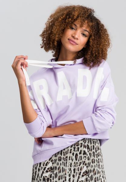 Sweatshirt mit Schriftdruck