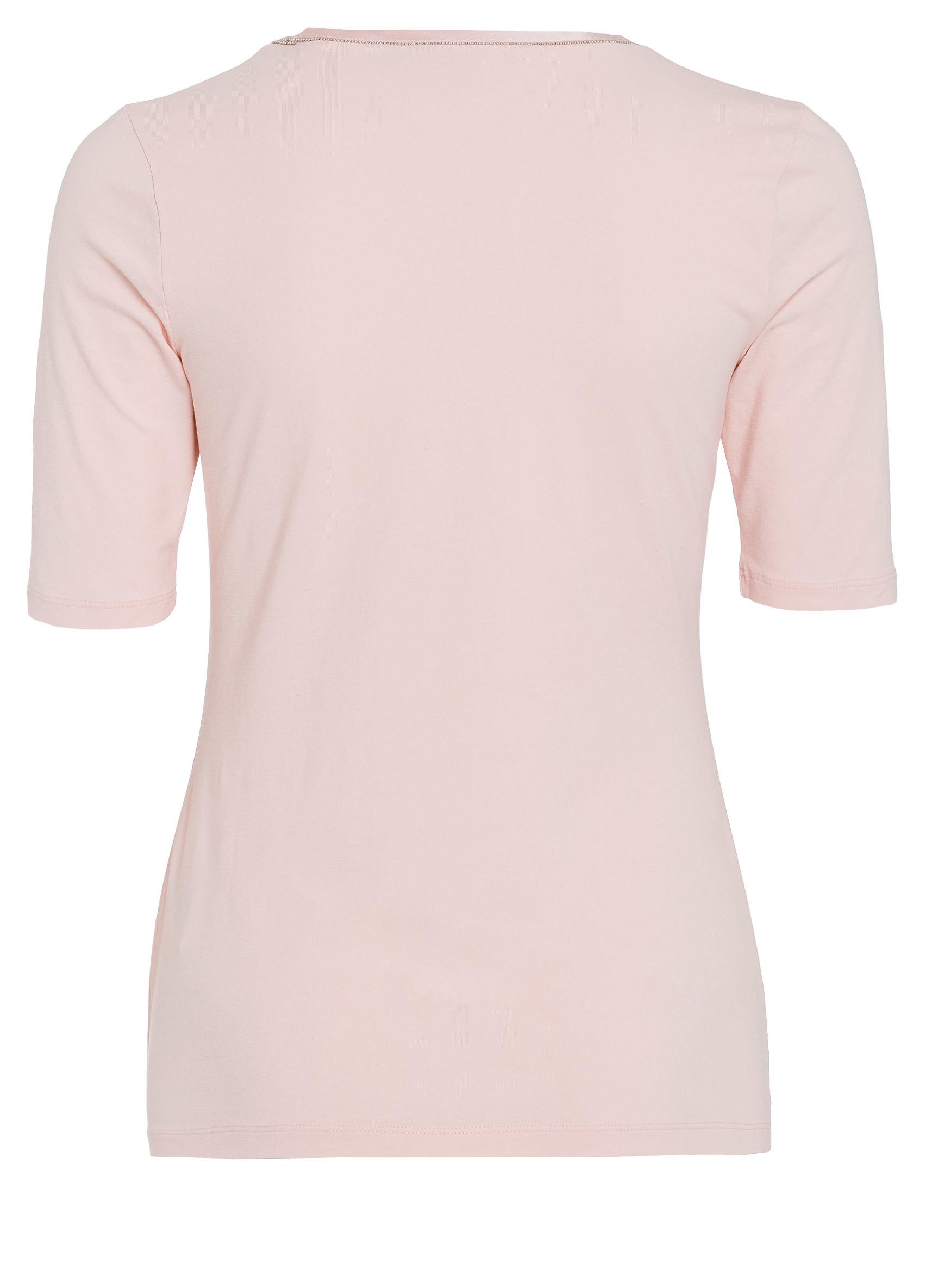 824740cff5c2cb ... Vorschau  T-Shirt mit Seidenkante ...