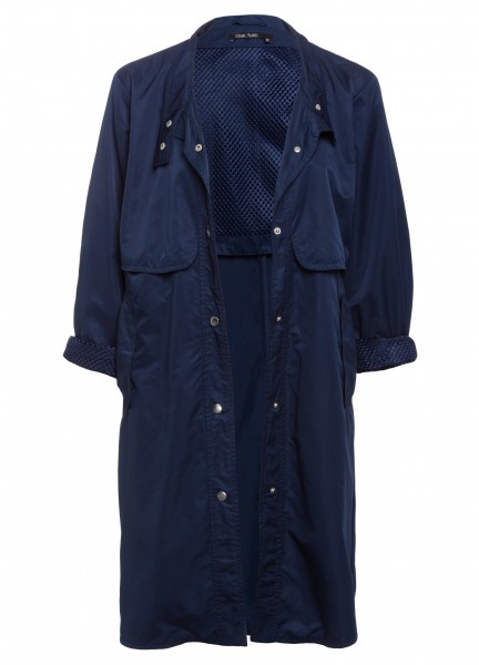 Mantel mit Collar