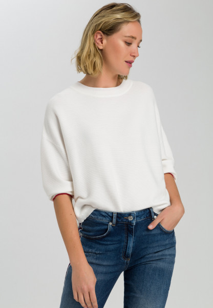 Pullover im Boxy-Look