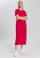 Jerseykleid im T-Shirt-Look