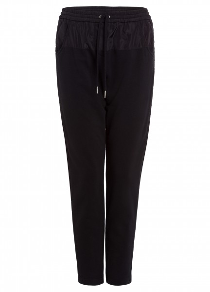 Jogger-Pants mit Nylondetails