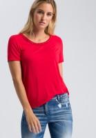 T-Shirt mit Nietentape