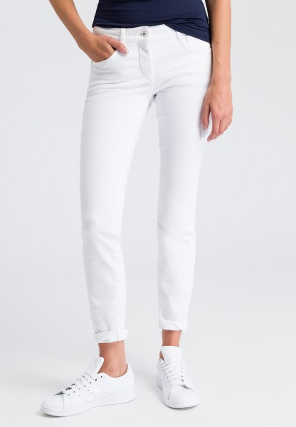 Jeans im White-Denim Look