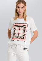 T-Shirt mit grafischem Batikprint