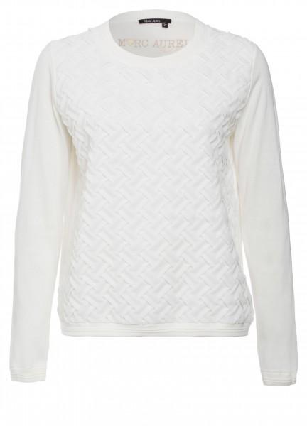Pullover mit Kreppeffekten