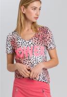 T-Shirt im Leopardenlook