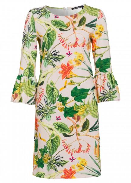 Kleid mit Tropenprint