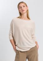 Pullover mit Rollkante