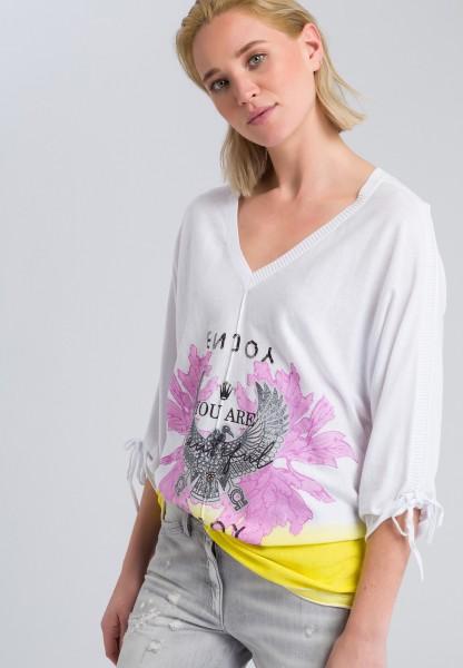 Pullovershirt mit Pailletten