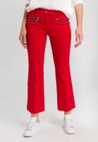 Zipperhose aus elastischem Jersey