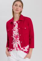 Jeansjacke aus sommerlicher Baumwollstruktur