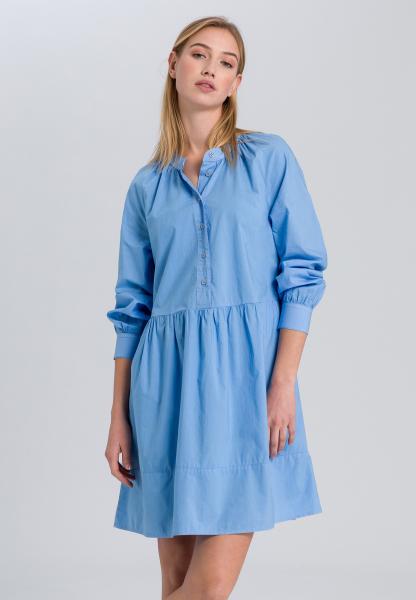 Minikleid im Hemdblusenlook