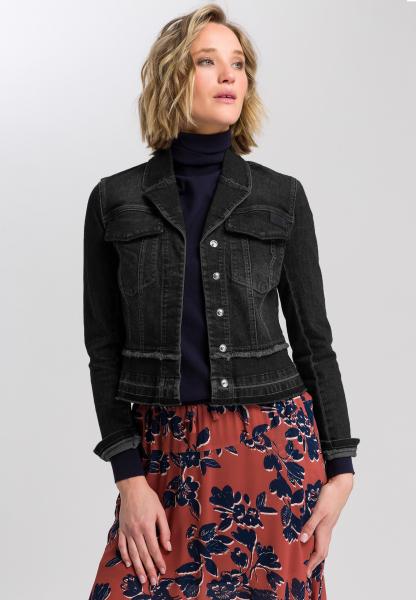 Jeansjacke mit Patch