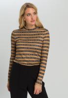 Shirt mit Typo-Ringel