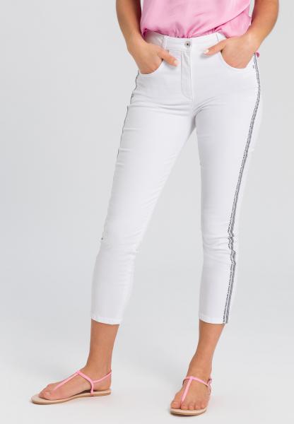 5-Pocket-Hose mit seitlichem Typoband