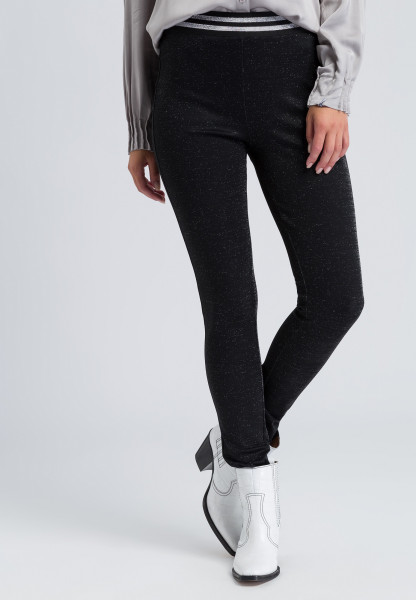 Leggings mit Glanzeffekten