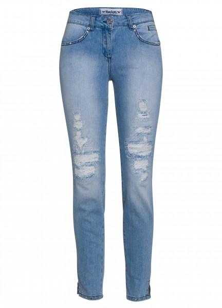 Jeans mit Nietendetails