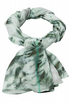 Rechteckiges Tuch im Batikprint