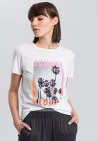 T-Shirt mit Summer-Print