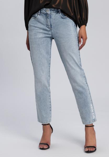 5-Pocket-Jeans aus reyceltem Demin