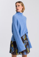 Turtleneck-Pullover aus Alpakawollmischung