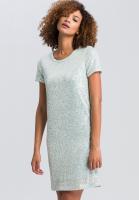 Kleid aus Paillettenjersey