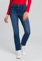 Jeans mit Biesen