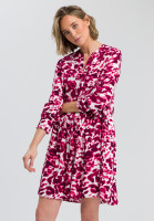 Kleid mit Batikprint