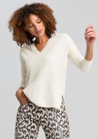 Pullover aus Lurexrippe