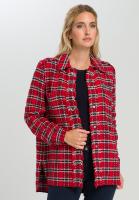 Hemdjacke im Tweed-Style