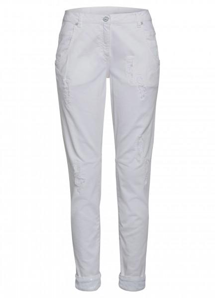 Jeans mit Paillettendetail