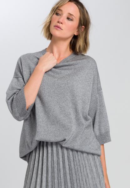 Pullover aus meliertem Lurex