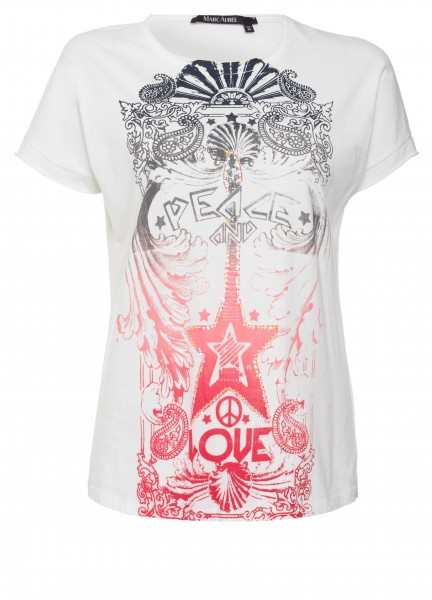 T-Shirt mit Printmotiven