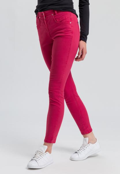 5-Pocket-Hose in High-waist-Optik