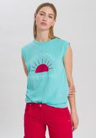 Shirt mit sommerlichem Frontprint
