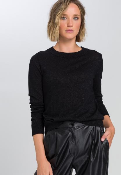 Pullover mit Glitzereffekt