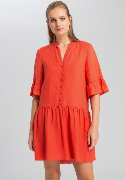 Kleid aus lässigem Leinen
