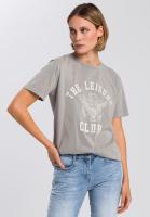 T-Shirt mit sportlichem Frontprint