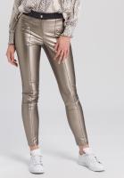 Leggings im Leder-Look
