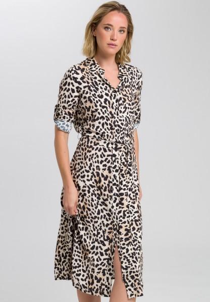 Kleid im Leoparden-Print