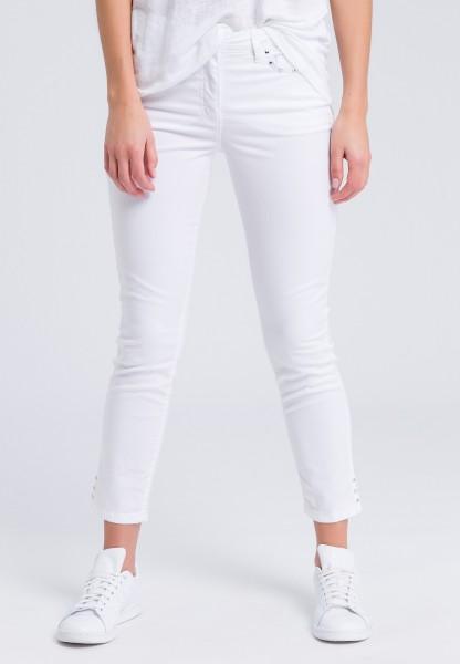 Skinny-fit-Jeans mit Nieten