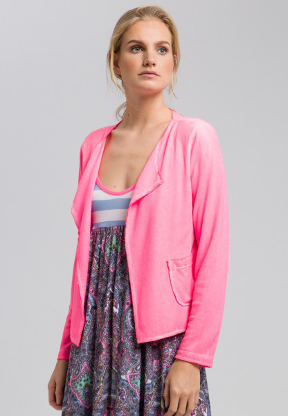 Cardigan mit offener Front